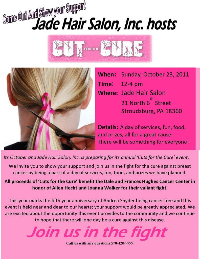 Jade Cut for the Cure