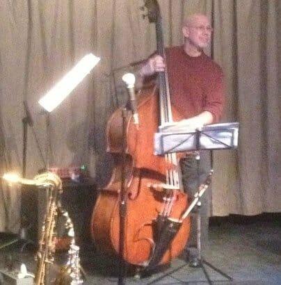 Steve Varner on jazz bass