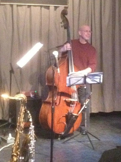 Steve Varner on jazz bass