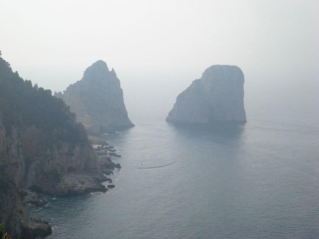 Misty Rocks