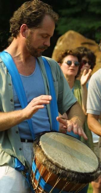 moving drum beat