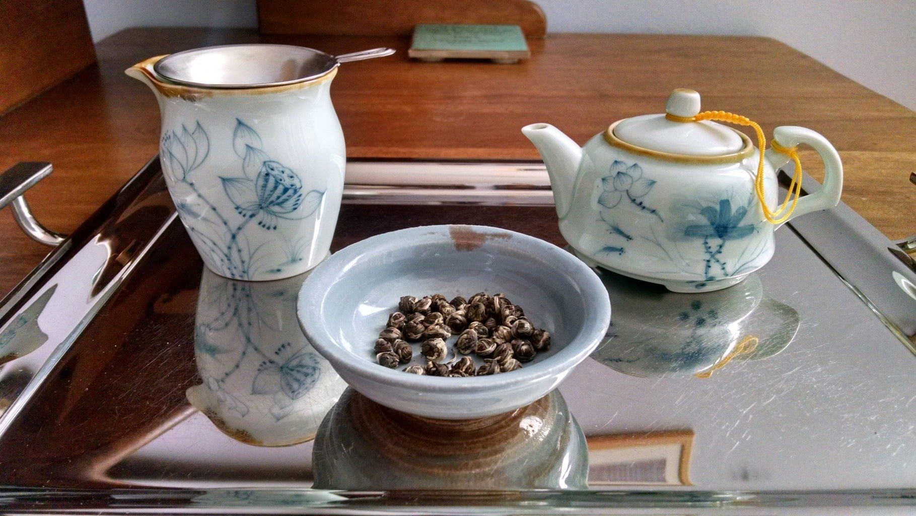 Tea, loss, and creative process