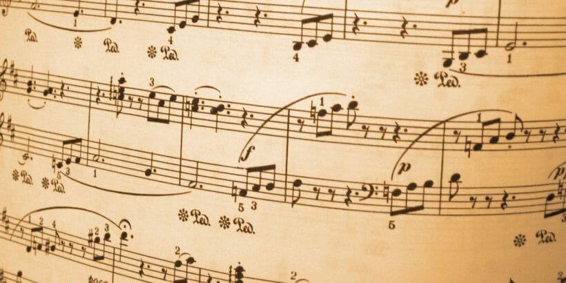 Musicians Musical Score