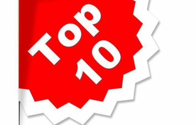 Listeners top 10