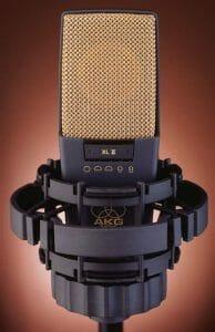 AKG C414 mic