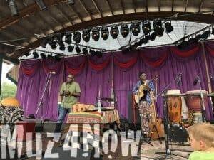 Samite at Grassroots Festival