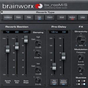Learning about a new plugin: brainworx bx_rooM/S