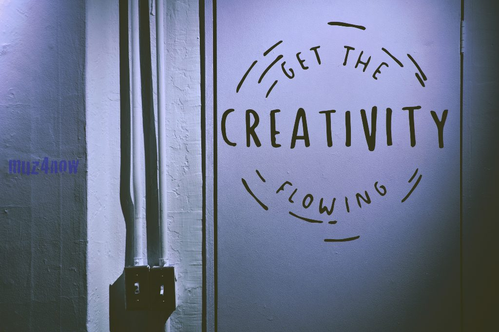 Get the creativity flowing - Get inspired