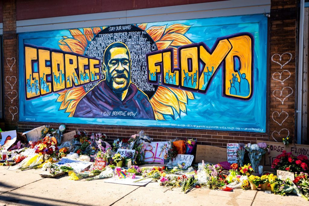 George Floyd mural - source: Unsplash