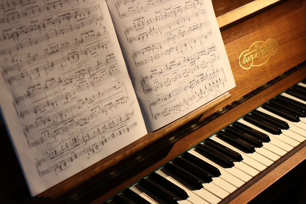 Piano and classical sound