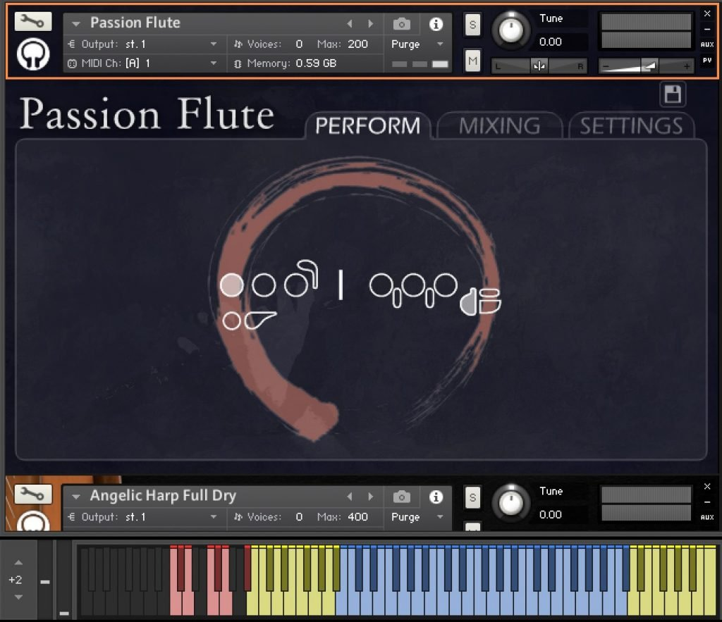 Orange Tree's Passion Flute