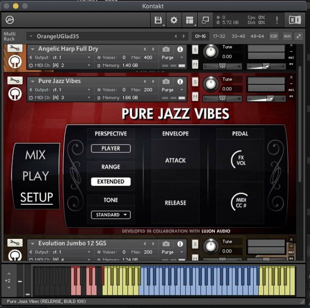 Pure Jazz Vibes Setup