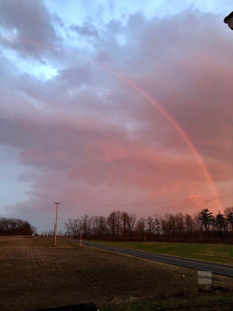 Red rainbow - convergence