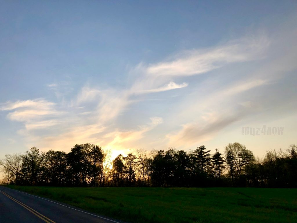 Sunset - creative doldrums