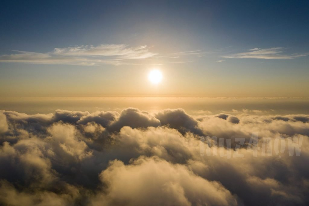 (Sun above clouds) Requiem for a Stranger cover photo