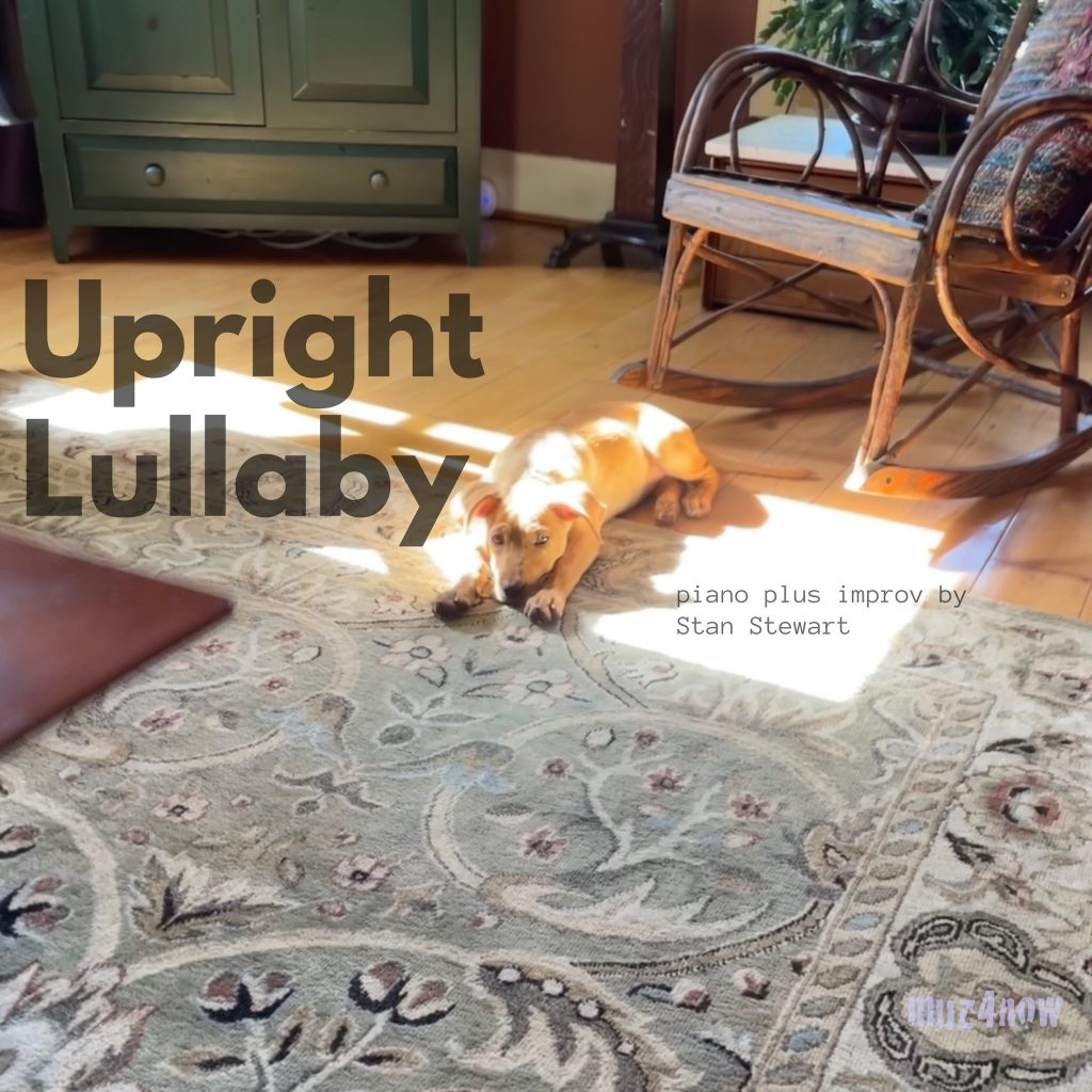 """Upright Lullaby (""""Puppy Love"""") cover"""