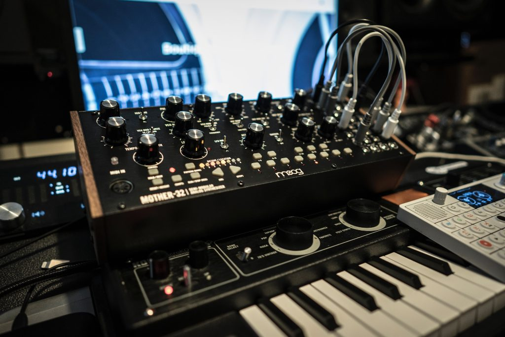 Synthesizers and other musical gear